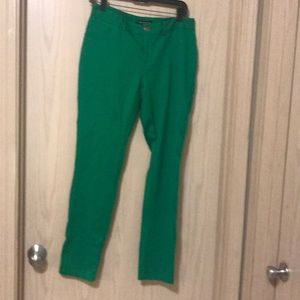 INC International concept sz 8 green pant